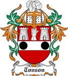 Tonson Coat of Arms, Family Crest