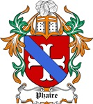 Phaire Coat of Arms, Family Crest