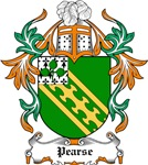 Pearse Coat of Arms, Family Crest