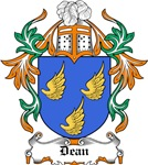 Dean Coat of Arms, Family Crest