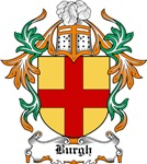 Burgh Coat of Arms, Family Crest