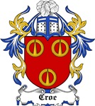 Croe Coat of Arms, Family Crest
