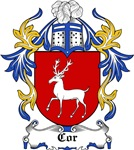 Cor Coat of Arms, Family Crest
