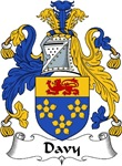 Davy Family Crest