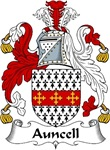 Auncell Family Crest