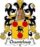 Chanteloup Family Crest