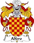 Alfero Family Crest