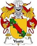 Yuste Family Crest