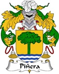 Pinera Family Crest
