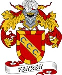 Ferrer Family Crest / Ferrer Coat of Arms