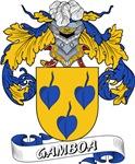 Gamboa Family Crest / Gamboa Coat of Arms