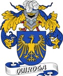 Quiroga Family Crest / Quiroga Coat of Arms