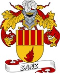 Sanz Family Crest / Sanz Coat of Arms