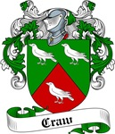 Craw Family Crest, Coat of Arms