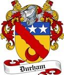 Durham Family Crest, Coat of Arms