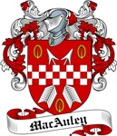 MacAuley Family Crest, Coat of Arms