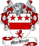 MacBrair Family Crest, Coat of Arms
