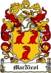 MacNicol Family Crest, Coat of Arms