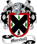 Marshall Family Crest, Coat of Arms
