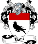 Paul Family Crest, Coat of Arms