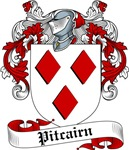 Pitcairn Family Crest, Coat of Arms