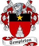 Templeton Family Crest, Coat of Arms