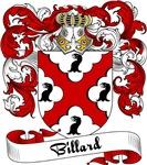 Billard Family Crest, Coat of Arms