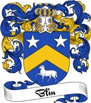 Blin Family Crest, Coat of Arms