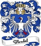 Blondel Family Crest, Coat of Arms