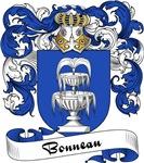 Bonneau Family Crest, Coat of Arms