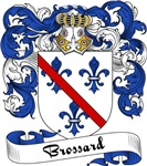 Brossard Family Crest, Coat of Arms