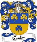 Gaudin Family Crest, Coat of Arms
