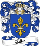 Gilles Family Crest, Coat of Arms