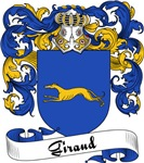 Giraud Family Crest, Coat of Arms