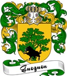 Gueguen Family Crest, Coat of Arms
