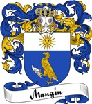 Mangin Family Crest, Coat of Arms
