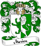 Marion Family Crest, Coat of Arms