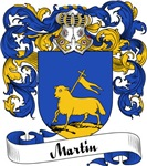 Martin Family Crest, Coat of Arms