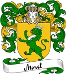 Morel Family Crest, Coat of Arms