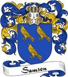 Samson Family Crest, Coat of Arms