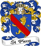 St. Pierre Family Crest, Coat of Arms