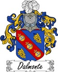 Dalmonte Family Crest, Coat of Arms