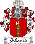 Delvecchio Family Crest, Coat of Arms
