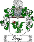 Drago Family Crest, Coat of Arms
