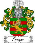 Franco Family Crest, Coat of Arms