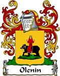 Olenin Family Crest, Coat of Arms