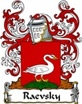 Raevsky Family Crest, Coat of Arms