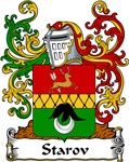 Starov Family Crest, Coat of Arms
