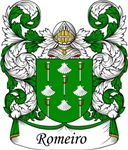 Romeiro Family Crest, Coat of Arms