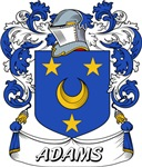 Adams Coat of Arms, Family Crest